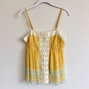 Free People Silk Baby Doll top Size 4 EUC